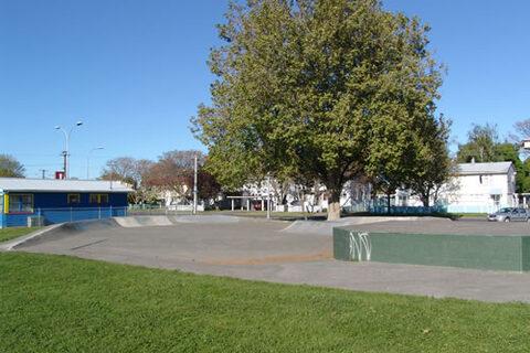 Maraenui Shops Reserve Skate Park