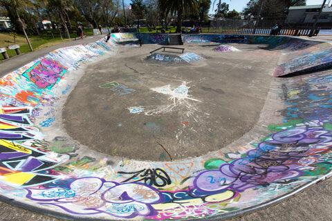 Kaitaia Centennial Park Skate Park