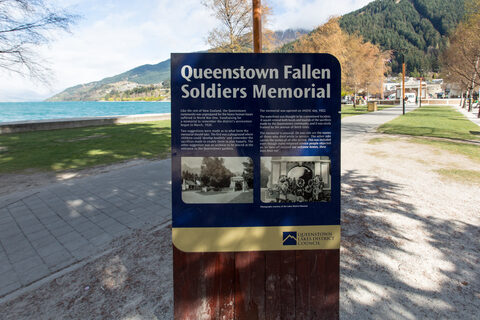 Queenstown Fallen Soldiers Memorial