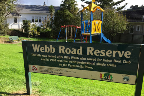 Webb Road Reserve Playground