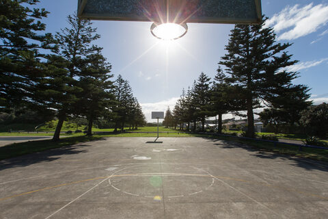 Castlecliff Domain Basketball Court