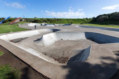 Castlecliff Domain Skate Park
