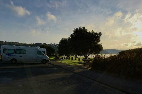Sunburst Reserve and Tamatea Esplanade Reserve