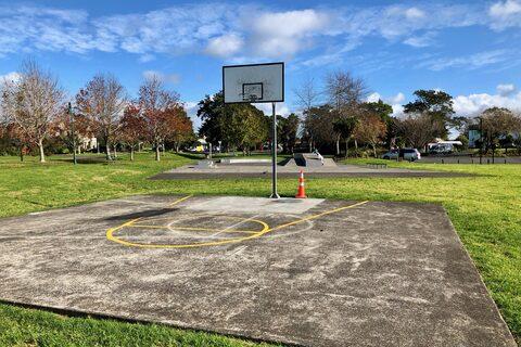 Jack Pringle Basketball Half Court