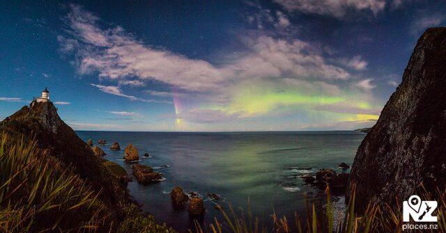 Nugget Point - Aurora