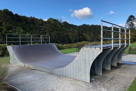 Lucy Moore Memorial Park Skate Ramp