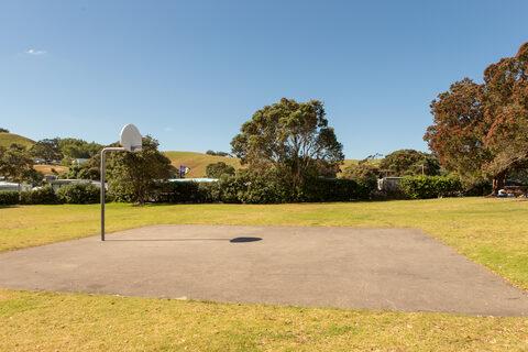 Martins Bay Basketball hoop