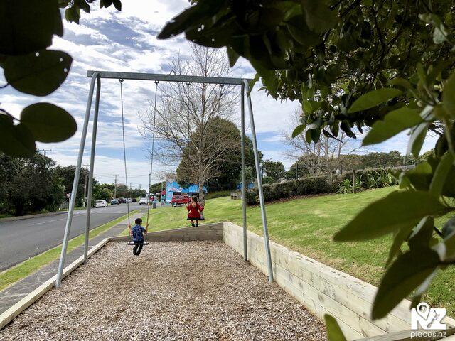 Swings at leigh