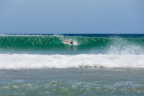 Body Surfing Sequence Pakiri Beach