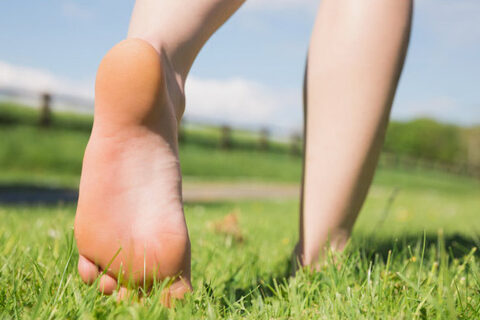 Why Walk Barefoot in the Grass