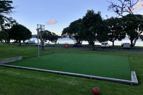Snells Beach Basketball Half Court