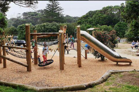 Muriwai Beach Regional Park Playground