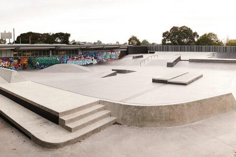 Birkenhead War Memorial Park Skate Park