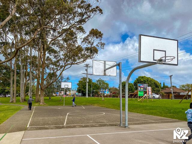 Parrs Park Basketball Half Court