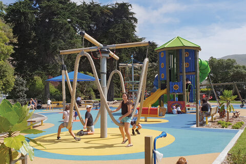 Scarborough Park Playground