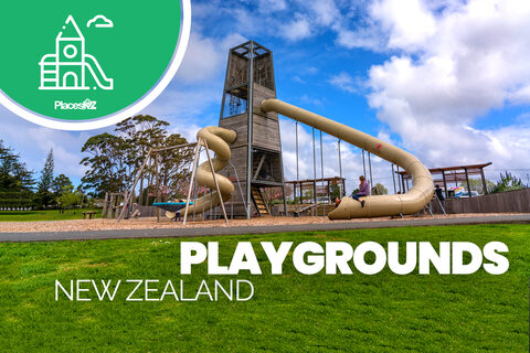 Every Kid's Playground in New Zealand 1400+