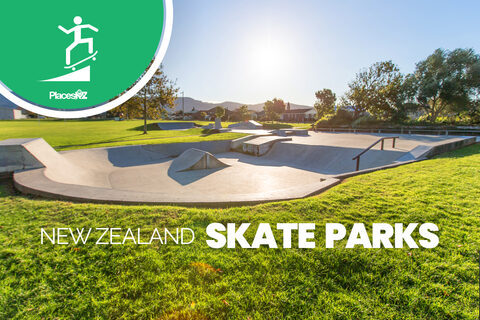 Every Skatepark in New Zealand 250+