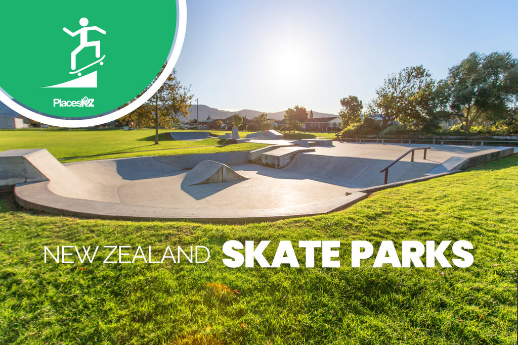 Every Skate Park in New Zealand