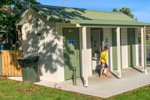 Hahei Beach Playground Public Toilets