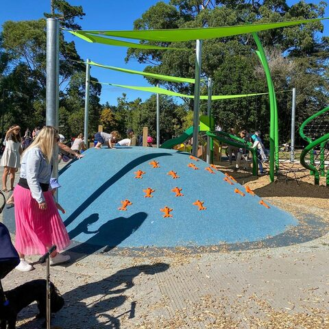 Western Springs Park (Lakeside) Playground